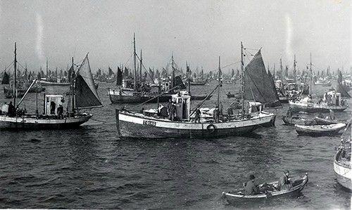 Fra Lofotfisket tidlig på 1900 tallet