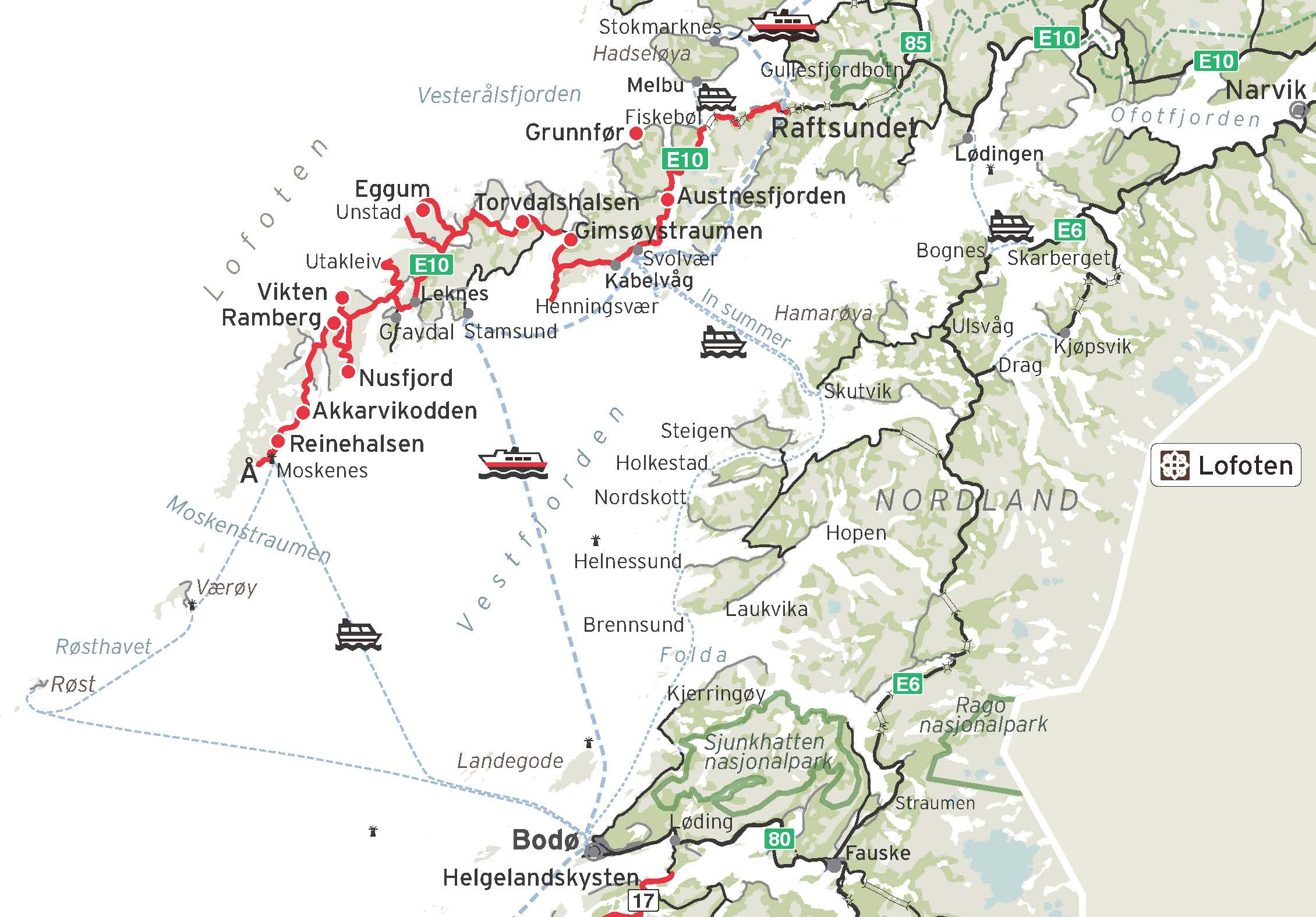 detaljer kart over lofoten Kart Lofoten og Svolvær detaljer kart over lofoten