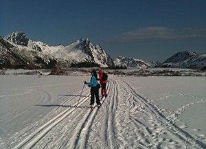 Skitur i Svolværmarka