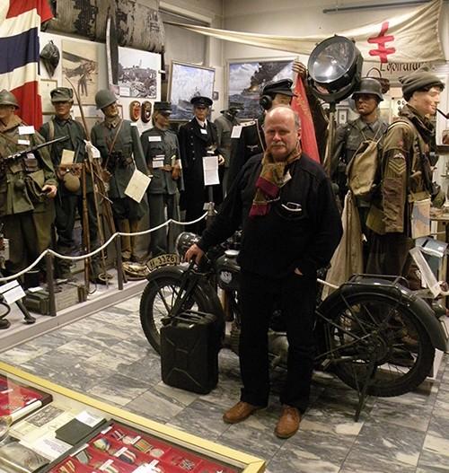 William Hakvaag Lofoten Krigsminnemuseum