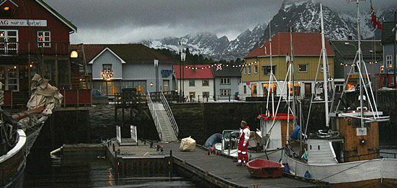 Kabelvåg. 7 januar 2006 Foto: Bjørn K. Hansen