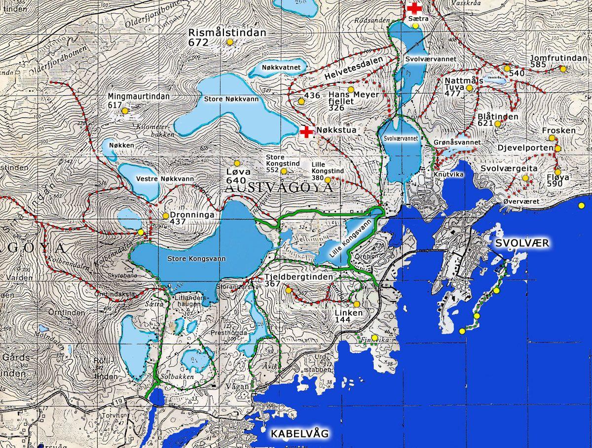 kart over svolvær Kart kart over svolvær