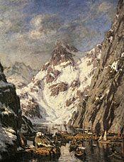 Trollfjordslaget av Gunnar Berg