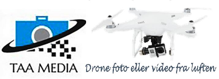 Dronefoto og dronevideo fra luften
